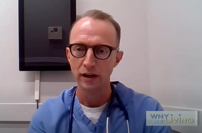 Dr. Richard Charles on WNY Living - 9/25/21