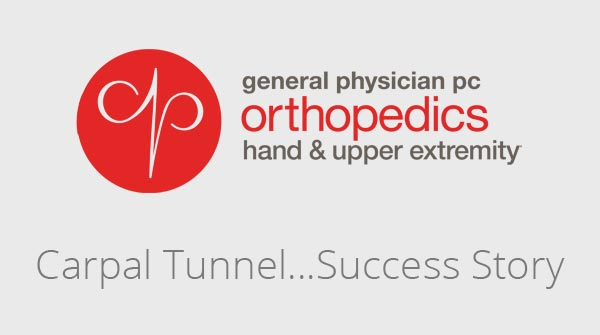 Carpal Tunnel...Success Story