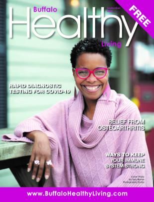 Buffalo Healthy Living Cover Sept. 2020